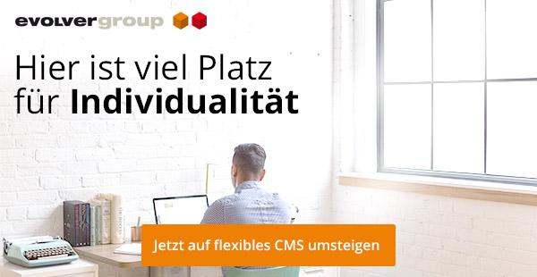 +++ Jetzt auf flexibles CMS umsteigen +++