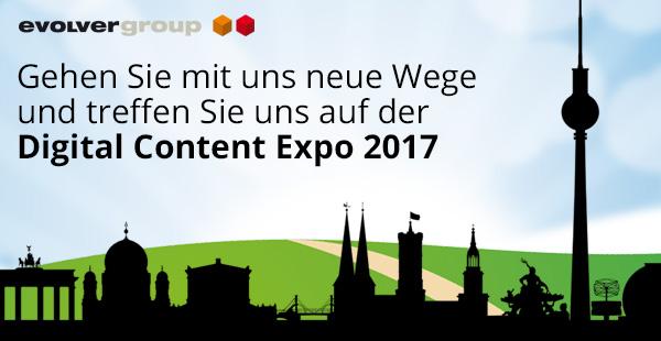 +++ Besuchen Sie uns auf der Digital Content Expo 2017 +++