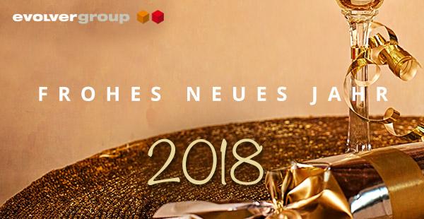 evolver wünscht ein frohes neues Jahr 2018
