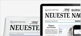 """+++ """"Badische Neueste Nachrichten"""": Bald Digitalisierung von Traueranzeigen +++"""