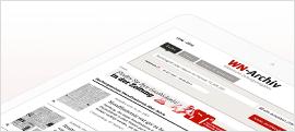 """+++ """"Westfälische Nachrichten"""": Digitalisierung von 1,5 Mio. Tageszeitungszeiten +++"""