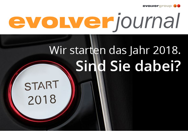 +++ evolver journal Ausgabe 4/17 +++