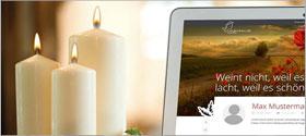 +++ Online-Portal für den Trauermarkt +++