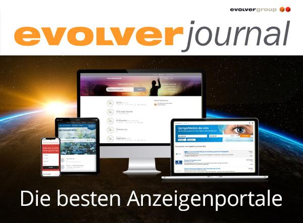 + + + evolver journal: Die besten Anzeigenportale + + +