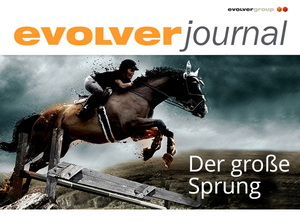 +++ evolver journal: Ausgabe Oktober 2018 +++